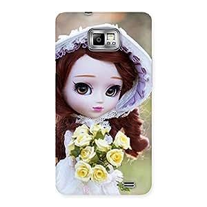 Ajay Enterprise Elited Bride Angel Doll Multicolor Back Case Cover for Galaxy S2