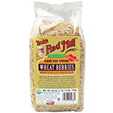 Bob's Red Mill Organic Hard Red Spring Wheat, 28-Ounce (Pack of 4)