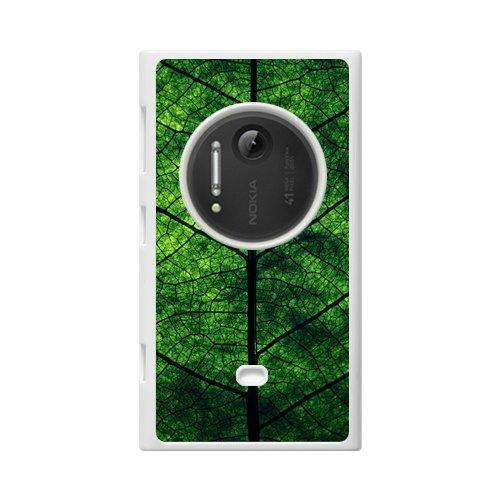 Green Leaves Texture Custom 100% Plastic Case For Nokia Lumia 1020