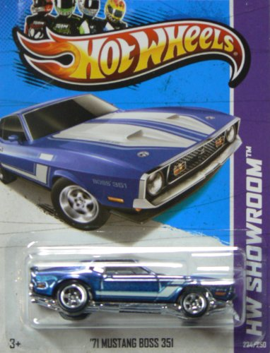 Hot Wheels 2013 Hw Showroom '71 Mustang Boss 351 224/250 - 1