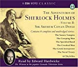 Sir Arthur Conan Doyle The Adventures of Sherlock Holmes: v. 2