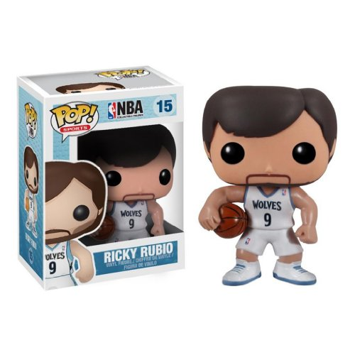 Funko POP NBA Series 2 Ricky Rubio Vinyl Figure