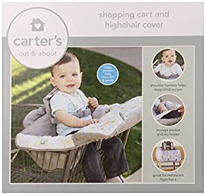 Carter's 2-In-1 Shopping Cart Cover, Neutral