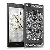 kwmobile Crystal Case Hülle für Huawei P9 Lite mit Blume