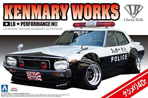 1/24 リバティーウォークシリーズ No.07 LBワークス ケンメリ4Drパトカー