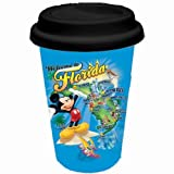 Disney Mickey Florida Sights Ceramic Travel Mug
