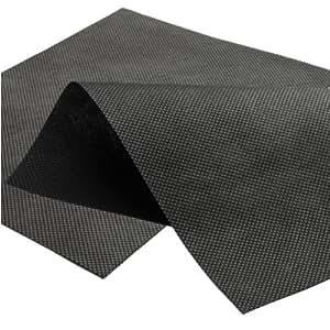 160 mq tessuto non tessuto da giardino 1 60 m x 100 00 m 50 g mq telo per pacciamatura nero - Telo tessuto non tessuto giardino ...