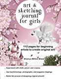 img - for Art and Sketching Journal for Girls book / textbook / text book