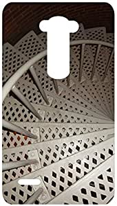 Spiral Steps Back Cover Case for LG G3