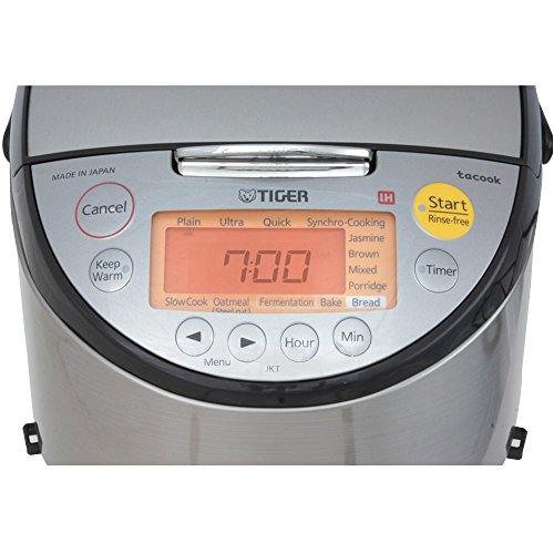Tiger Corporation JKT-S10U 5.5-Cup Induction Heating Rice Cooker and Warmer