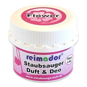 reimador Staubsauger Duftperlen Flower mit Geruchskiller und Blumenduft mit dreifacher Wirkung 100 ml