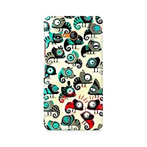 Mobicture Colorful Chameleon Premium Printed Case For Nokia Lumia 640