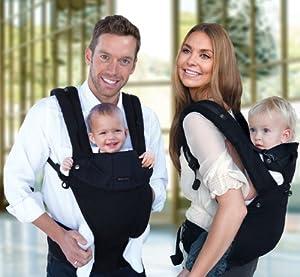 líllébaby® COMPLETE Baby Carrier Original - Black/Black