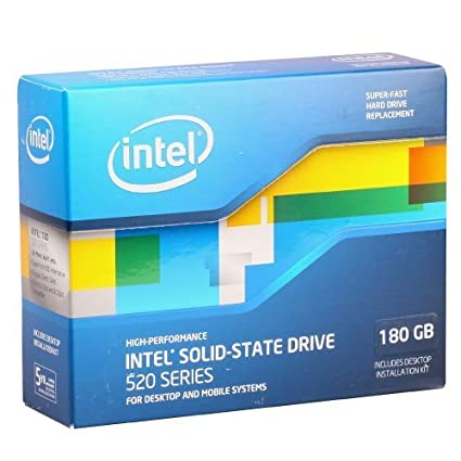 Intel 520 (SSDSC2CW180A3K5) 180GB SSD Internal Hard Drive