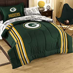 NFL Green Bay Packers 5-Piece Twin Size Bedding Set by Northwest