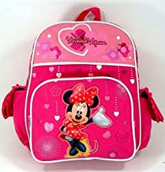 "Return to product information 	 Disney Minnie Mouse 12"" Toddler Backpack - Sweet Minnie"