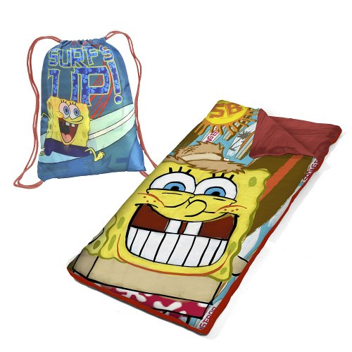 Spongebob Toddler Bedding Set 8260 front