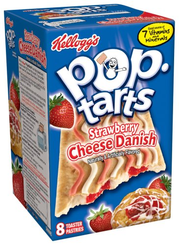 Buy Kellogg's Pop-Tarts Strawberry Cheese Danish, 14.1-Ounce, 8-Count Boxes (Pack of 12) (Pop-Tarts, Health & Personal Care, Products, Food & Snacks, Breakfast Foods, Toaster Pastries)