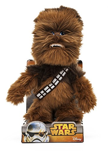 Star Wars 1400616 - Chewbacca Peluche in Unique Velboa, 25 cm in Displaybox