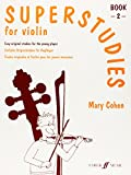 Superstudies for Violin, Bk 2