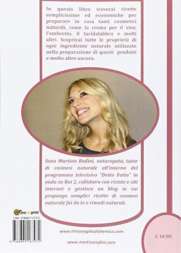 Libro cosmetici naturali fatti in casa di martina rodini - Detersivi naturali fatti in casa ...