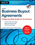 img - for Business Buyout Agreements: A Step-by-Step Guide for Co-Owners book / textbook / text book