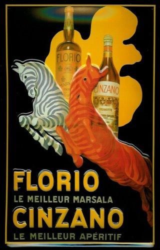 affiche-metallique-avec-florio-cinzano-marsala-zebra-aperitif-plaque-retro-en-metal
