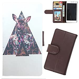 DooDa - For HTC One M8 PU Leather Designer Fashionable Fancy Wallet Flip Case Cover Pouch With Card, ID & Cash Slots And Smooth Inner Velvet With Strong Magnetic Lock