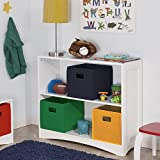 RiverRidge Kids Horizontal Bookcase, Multiple Color Options Available