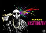 Rick Ross Mastermind Deluxe Album Cover Poster A1 A2 A3 Wall Art