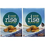 RiseBar Protein Almond Honey, 12-Count Bars 2 Pack