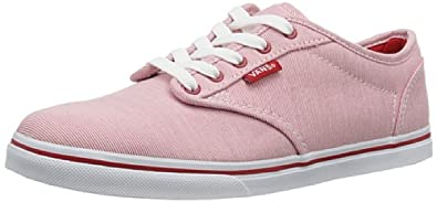 Vans  W ATWOOD LOW  (NAUTICAL) RED, Baskets pour femme - Rouge - Rot ((Nautical) red), 34.5