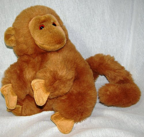 "Fiesta Ring Tail Money 14"" Brown Plush - 1"