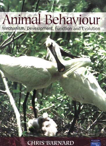 Amazon.com: Animal Behaviour: Mechanism, Development, Function and Evolution (9780130899361): Chris Barnard: Books