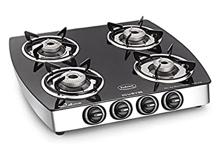 Cs 4Gt Jalwa Curve Gas Cooktop (4 Burners)