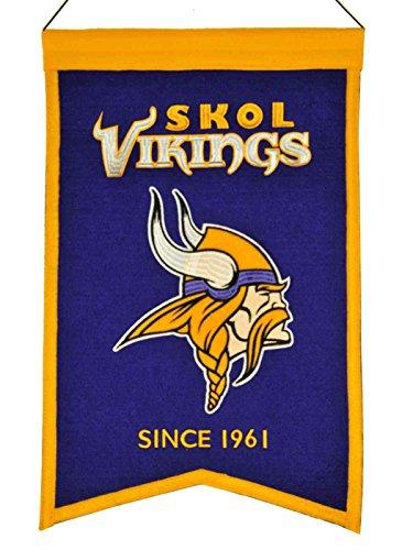 minnesota-vikings-winning-streak-skol-vikings-franchise-wool-banner-14x22