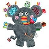 """Label Label Schmusetier Friends """"Elefant"""" - grau"""