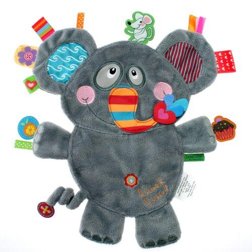 Label Friends Doudou Elefante