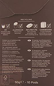 Cafédirect Fairtrade Colombian Rise Coffee Pods (6x10 Pack) (Nespresso® Machine Compatible)