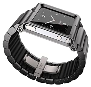 Lunatik LKBLK-011 Lynk Watch Wrist Strap for iPod Nano 6G - Black from LunaTik