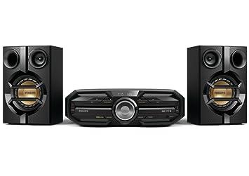 Philips FX15/12 Mini-chaîne Bluetooth NFC CD/MP3 UBS 180 W RMS Noir