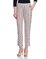 Madame Women's Pants (M1529606_Peach_Small)