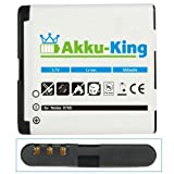 Akku-King Battery for Nokia 6700 Classic / Illuvial - replaces BL-6Q 950mAh Li-Ion