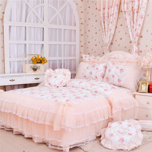 Lace Bedding Sets 2972 front