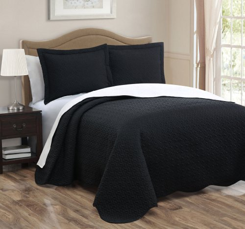 Black And White King Size Bedding 160299 front