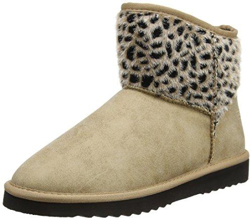 ESPRIT Uma Leo Boot, Stivali donna, Marrone (Braun (230 camel)), 42