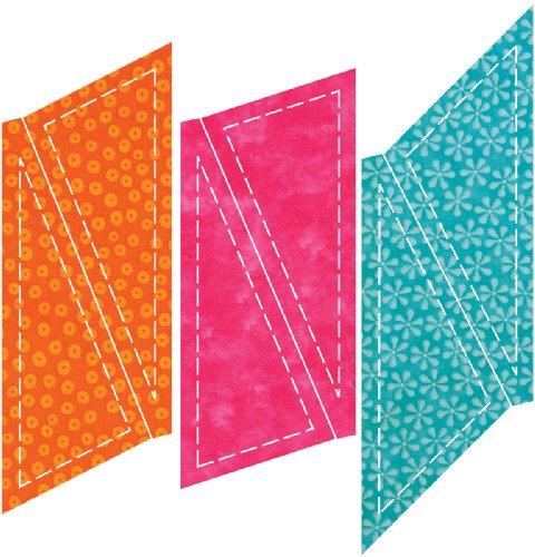 Accuquilt Go! Fabric Cutting Dies; Blazing Star front-526524