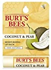 Burts Bees Lip Balm Coconut and Pear Tube 0.15 Ounce
