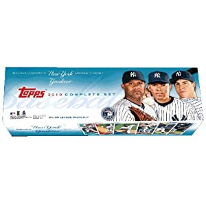 MLB New York Yankees Edition 2010 Topps MLB Factory Set, Retail (666 cards) by Topps