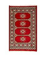 RugSense Alfombra Kashmir Rojo/Azul 119 x 80 cm